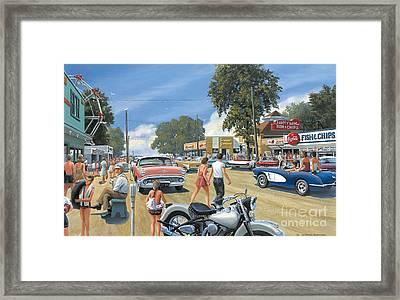 Summertime Framed Print by Michael Swanson