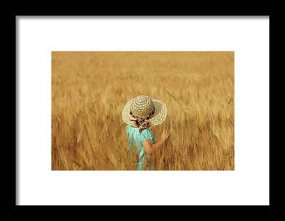 Crop Framed Prints