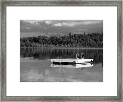 Summertime Reflections Framed Print
