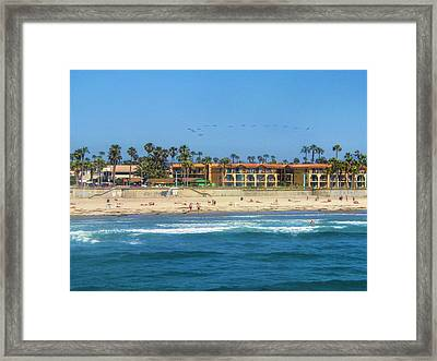 Summertime Framed Print by Tammy Espino