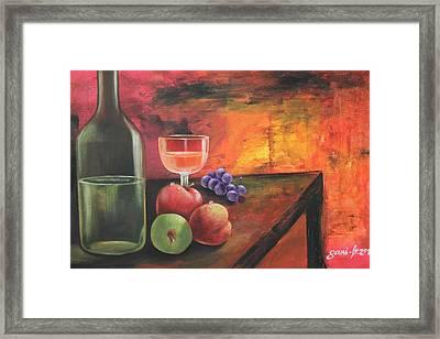 Summerwine Framed Print by Gani Banacia