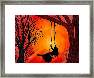 Summoned By The Sun Framed Print
