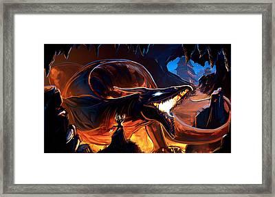 Summoned Framed Print