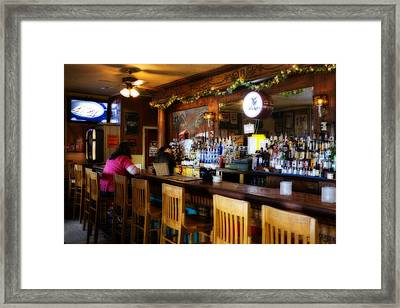 Sumneytown Bar Framed Print