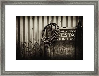 Sump Framed Print by Tim Nichols
