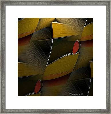 Sun-ab-2 Framed Print by Ines Garay-Colomba