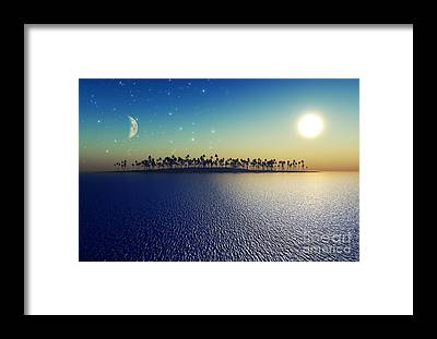 Sun Framed Prints