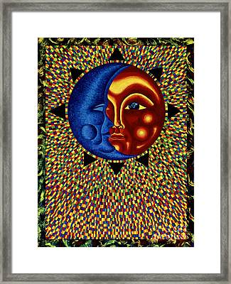 Sun And Moon II Framed Print