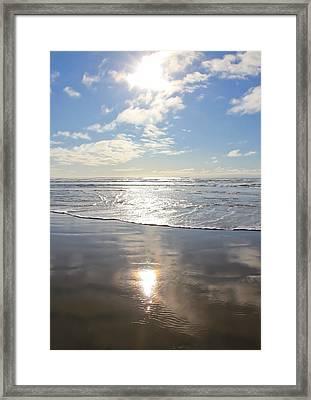 Sun And Sand Framed Print