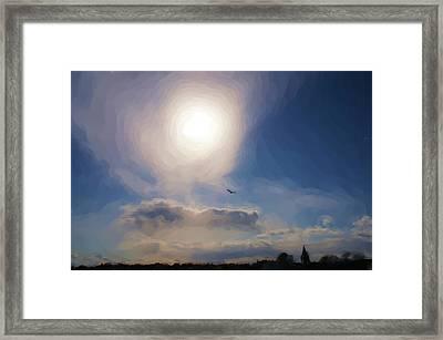 Sun And Skies Framed Print