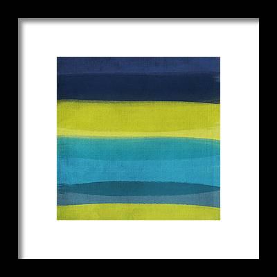 Beach Cottage Framed Prints