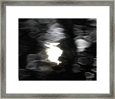 Framed Print featuring the photograph Sun And Water  by Penny Meyers