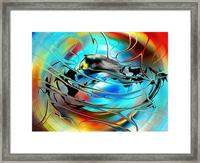 Sun And Weather - North America Framed Print
