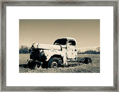 Sun Baked  Framed Print by Off The Beaten Path Photography - Andrew Alexander