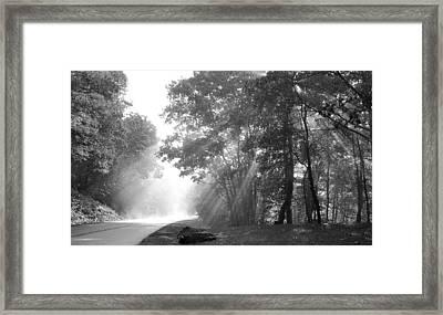 Sun Beams Framed Print by Todd Hostetter