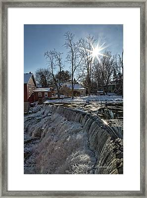 Sun Burst  Framed Print by Keith Hutchings