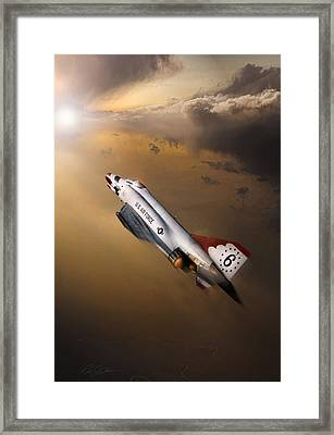 Sun Chaser 6 Framed Print by Peter Chilelli