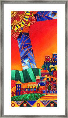 Sun City Framed Print by Dawnstarstudios
