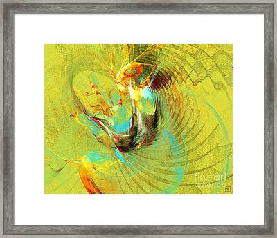 Sun Dancer Framed Print by Jeanne Liander