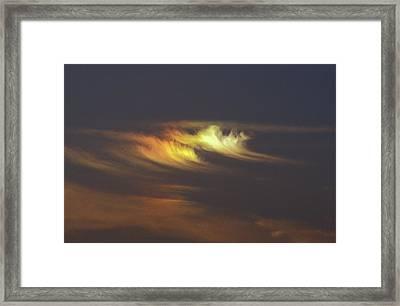 Sun Dog Framed Print by Pekka Parviainen/science Photo Library