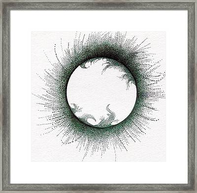 Sun Framed Print by Dyana Schoenstadt