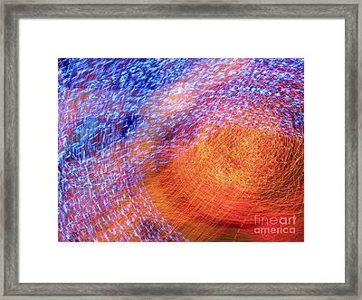 Sun Eye Framed Print