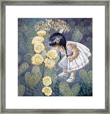 Sun Flower Framed Print by Gregory Perillo