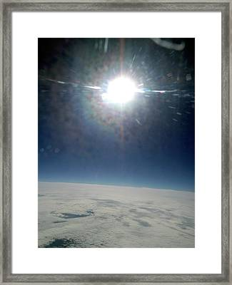 Sun From 30 Framed Print by Detlev Van Ravenswaay