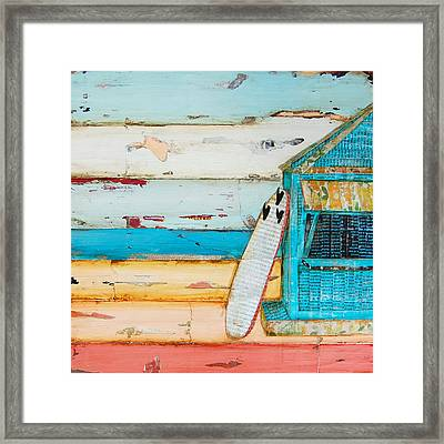 Sun Fun Young Framed Print