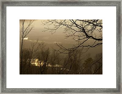 Sun Glow Framed Print by Jane Eleanor Nicholas