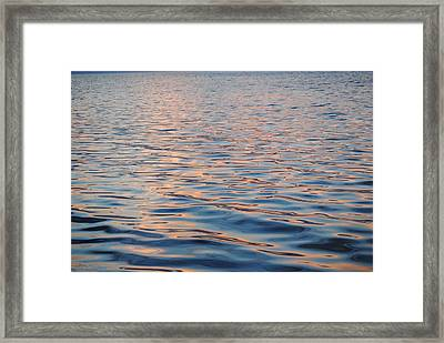Framed Print featuring the photograph Sun Glow by Michele Kaiser