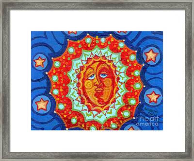 Sun God Framed Print