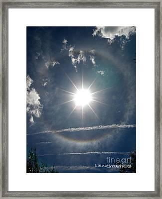 Sun Halo Framed Print by Lainie Wrightson