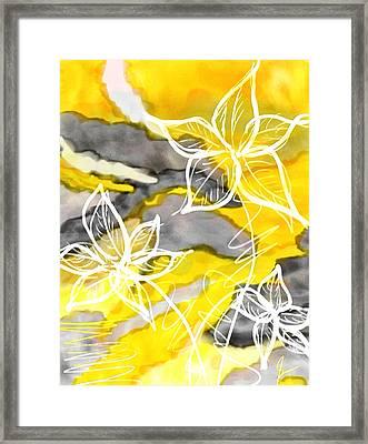 Sun In Spring Framed Print
