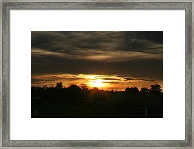 Sun In The Fields 02 Framed Print by Li   van Saathoff