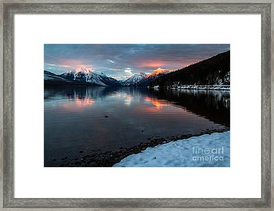 Framed Print featuring the photograph Sun Kissed 1 by Katie LaSalle-Lowery