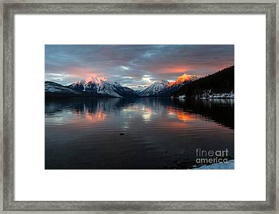 Framed Print featuring the photograph Sun Kissed 2 by Katie LaSalle-Lowery