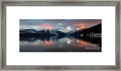 Framed Print featuring the photograph Sun Kissed 2  Pano Crop by Katie LaSalle-Lowery