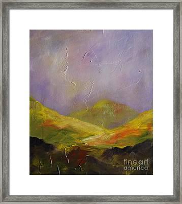 Sun Kissed Connemara Framed Print