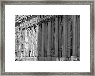 Sun Life Building  Montreal, Quebec Framed Print by David Chapman
