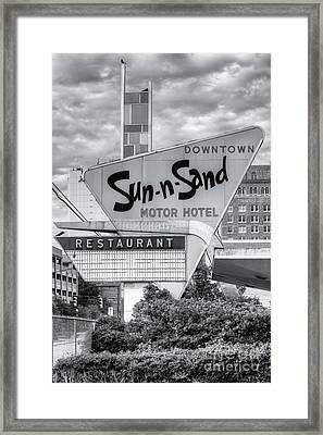 Sun-n-sand Motor Hotel II Framed Print
