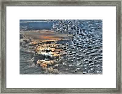 Sun On Sand Framed Print