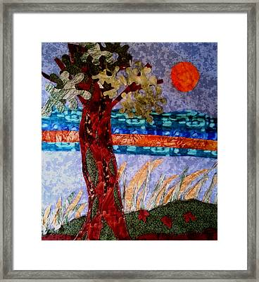 Sun Over Arbutus Work In Progress Framed Print