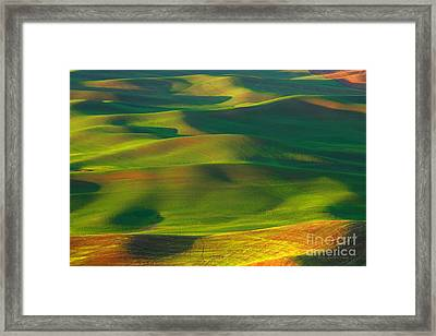 Sun Painted Hills Framed Print by Beve Brown-Clark Photography