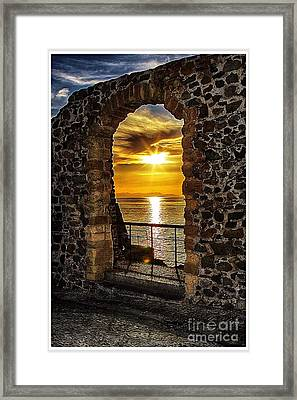 Sun Panorama Framed Print by Stefano Senise