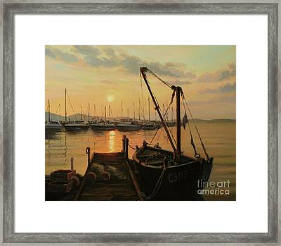 Sun Path Framed Print by Kiril Stanchev