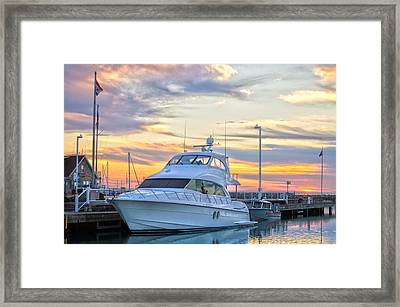 Sun Peaking II Framed Print