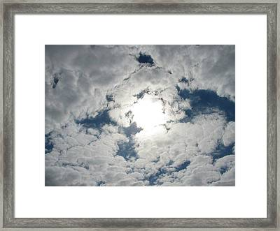 Sun Peek Framed Print by Deborah Lacoste