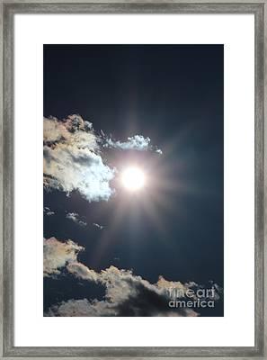 Sun Ray 2 Framed Print by Brenda Henley