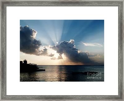 Sun Rays Framed Print by Amar Sheow